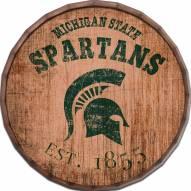 "Michigan State Spartans Established Date 24"" Barrel Top"