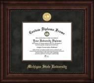 Michigan State Spartans Executive Diploma Frame