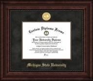 Michigan State Spartans Executive Diploma Frame