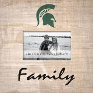 Michigan State Spartans Family Picture Frame