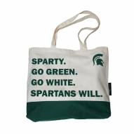Michigan State Spartans Favorite Things Tote