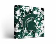 Michigan State Spartans Fight Song 2 Canvas Wall Art