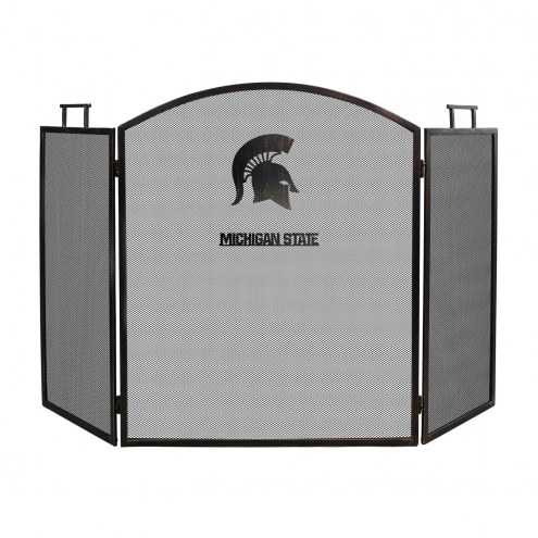 Michigan State Spartans Fireplace Screen