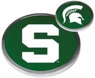 Michigan State Spartans Flip Coin