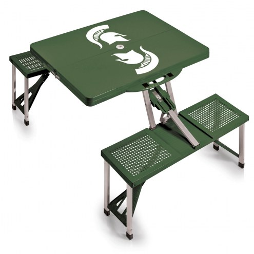 Michigan State Spartans Folding Picnic Table