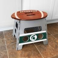 Michigan State Spartans Folding Step Stool