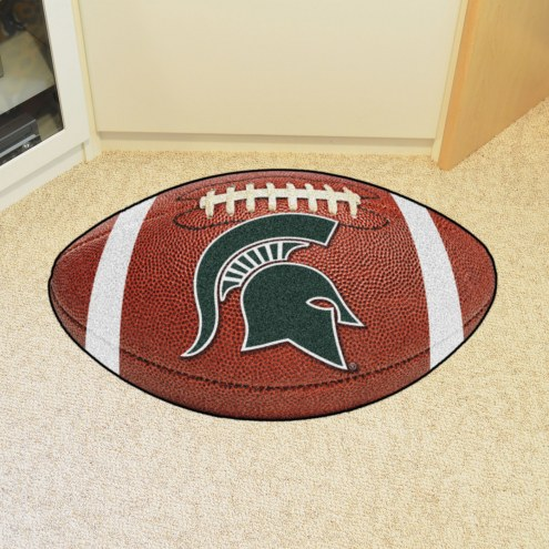Michigan State Spartans Football Floor Mat