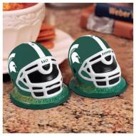 Michigan State Spartans Football Helmet Salt and Pepper Shakers