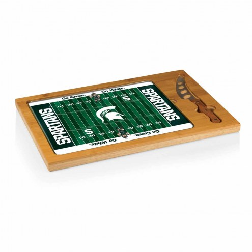 Michigan State Spartans Football Icon Cutting Board