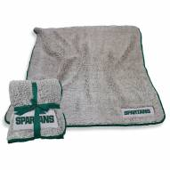 Michigan State Spartans Frosty Fleece Blanket