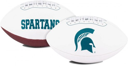 Michigan State Spartans Full Size Embroidered Signature Series Football