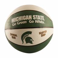 Michigan State Spartans Full Size Rubber Basketball