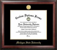 Michigan State Spartans Gold Embossed Diploma Frame