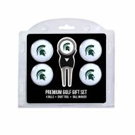 Michigan State Spartans Golf Ball Gift Set