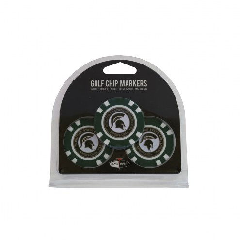 Michigan State Spartans Golf Chip Ball Markers
