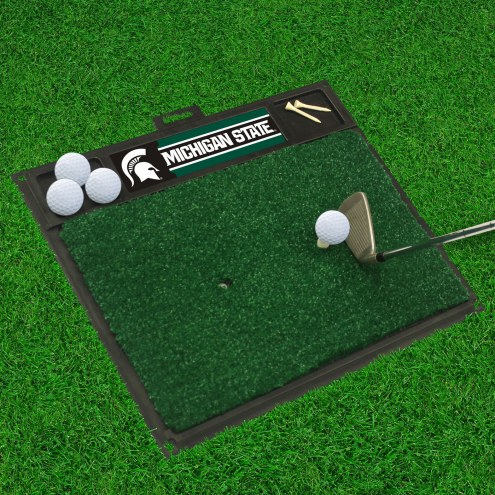 Michigan State Spartans Golf Hitting Mat