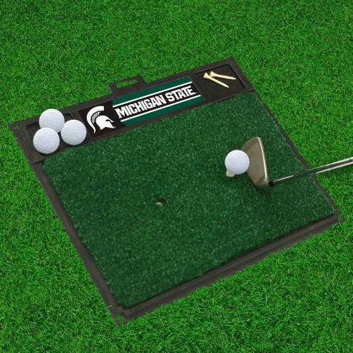 Michigan State Spartans Golf Hitting Mat