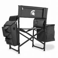 Michigan State Spartans Gray/Black Fusion Folding Chair