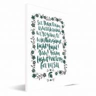 Michigan State Spartans Hand-Painted Song Canvas Print