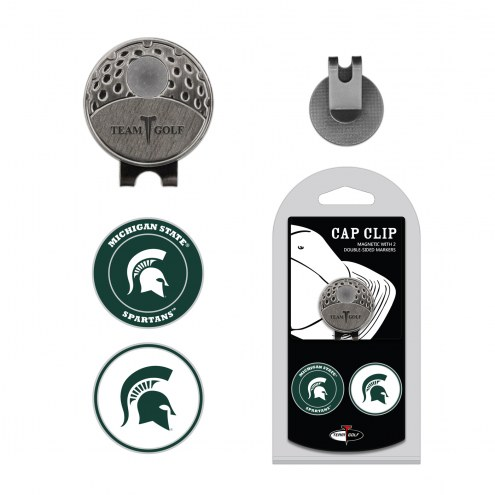 Michigan State Spartans Hat Clip & Marker Set