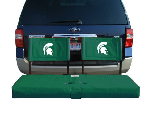 Michigan State Spartans Tailgate Hitch Seat/Cargo Carrier