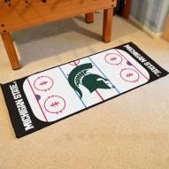 Michigan State Spartans Hockey Rink Runner Mat