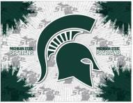 Michigan State Spartans Logo Canvas Print