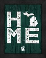 Michigan State Spartans Home Away From Home Wall Decor