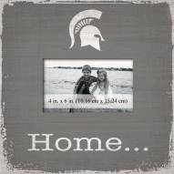 Michigan State Spartans Home Picture Frame