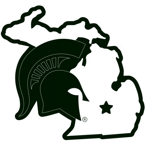 """Michigan State Spartans Home State 11"""""""" Magnet"""