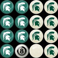 Michigan State Spartans Home vs. Away Pool Ball Set