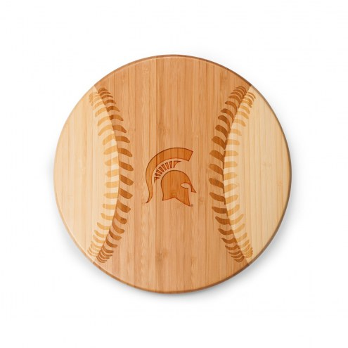 Michigan State Spartans Homerun Cutting Board