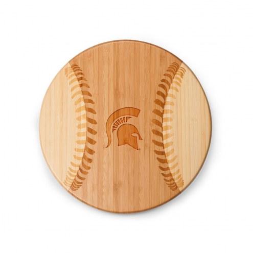 Michigan State Spartans Homerun Cutting Board