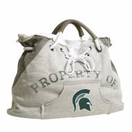 Michigan State Spartans Hoodie Tote Bag