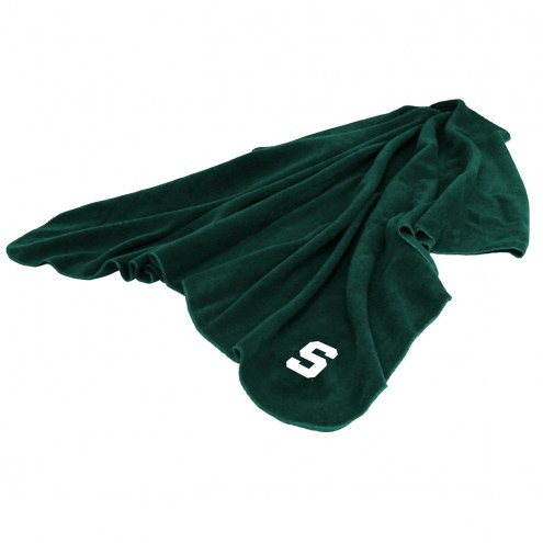 Michigan State Spartans Huddle Fleece Throw Blanket