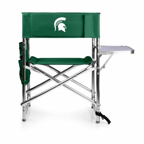 Michigan State Spartans Hunter Green Sports Folding Chair