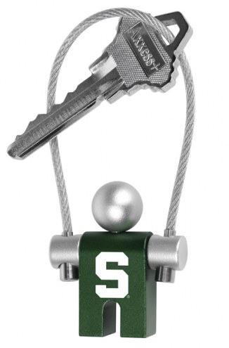 Michigan State Spartans Jumper Keychain