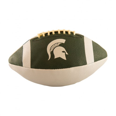Michigan State Spartans Junior Rubber Football