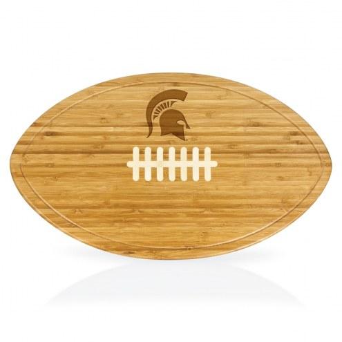 Michigan State Spartans Kickoff Cutting Board