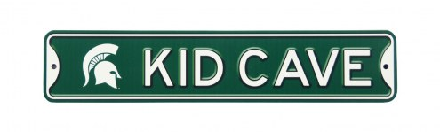 Michigan State Spartans Kid Cave Street Sign