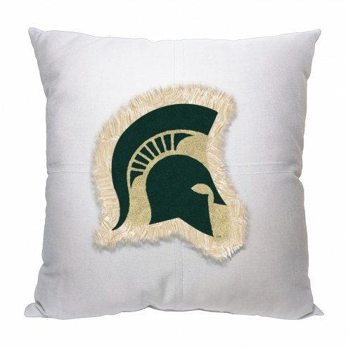 Michigan State Spartans Letterman Pillow