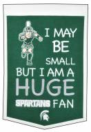 Michigan State Spartans Lil Fan Traditions Banner