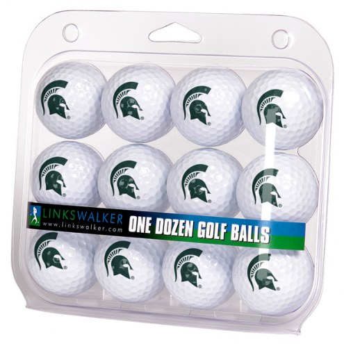 Michigan State Spartans Dozen Golf Balls