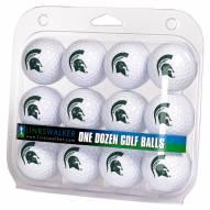 Michigan State Spartans Dozen Golf Balls