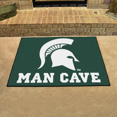 Michigan State Spartans Man Cave All-Star Rug