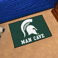 Michigan State Spartans Man Cave Starter Mat