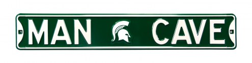 Michigan State Spartans Man Cave Street Sign
