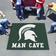Michigan State Spartans Man Cave Tailgate Mat