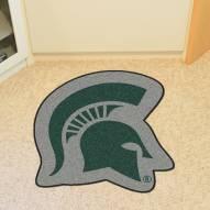 Michigan State Spartans Mascot Mat