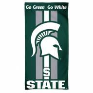 Michigan State Spartans McArthur NCAA Beach Towel